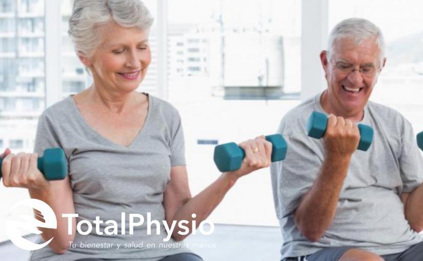 La fisioterapia juega un gran papel en el envejecimiento saludable